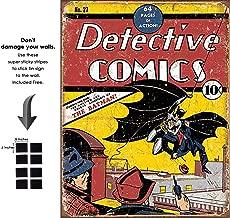 Shop72 Tin Sign DC Comic Series Metal Tin Sign Retro Vintage No Damage to Walls