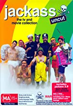Jackass Movie / Number Two, 2.5, 3 & 3.5 / Vol.1-3 / Lost Tapes | 8 Discs | NON-USA Format | PAL | Region 4 Import - Australia