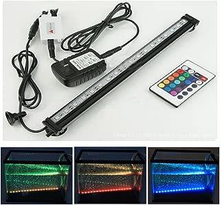 Xcellent Global LED Aquarium Fish Tank Light with Extendable Brackets 4 Modes 16 Color..