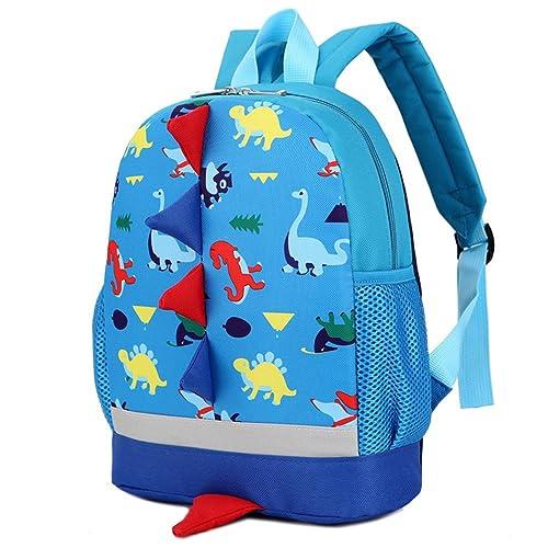 a0ad918fd053 Kids Backpacks School Bags Dinosaur Toddler Boys Girls Daypacks 1-4 Years  (sky blue