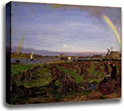 Canvas Print Wall Art - Walton-On-The-Naze - Ford Madox Brown - Giclee Printed on Stretched Gallery Wrap - 16x12 inch