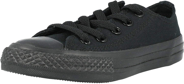 Converse Chuck Taylor Max 60% OFF All Star Ox 2 US Child Textile Award-winning store Mono Black
