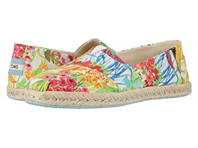 TOMS Alpargata on Rope (Sunshine Floral Delight Lawn on Rope) Women