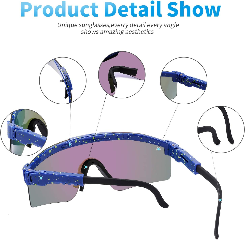 Pit Viper Sunglasses UV400 Polarized Sunglasses for Women and Men ...