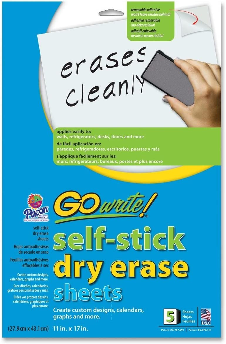 Pacon Adhesive Ranking TOP17 Dry Sheets Erase Free shipping anywhere in the nation