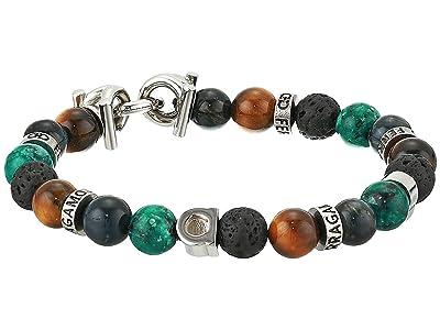Salvatore Ferragamo Beaded Stretch Bracelet (Multicolor) Bracelet