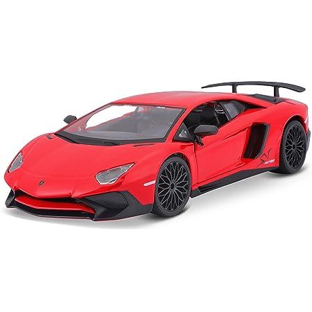 Bauer Spielwaren 18 21079 Lamborghini Aventador Sv Coupe Modellauto Im Maßstab 1 24 Rot Spielzeug