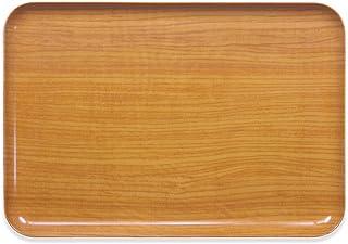 タツクラフト ST ランチョン トレー L ウッド ナチュラル 食洗機対応 お盆 おしゃれ プラスチック 大 小 大きい 深い 四角 長方形 洋風 和風 トレイ インテリア 白 木目 木目調 ランチョンマット 子供用 布 洗える 防水 撥水 子...