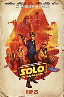 MCPosters Han Solo A Star War Story GLOSSY FINISH Movie Poster - FIL990 (24