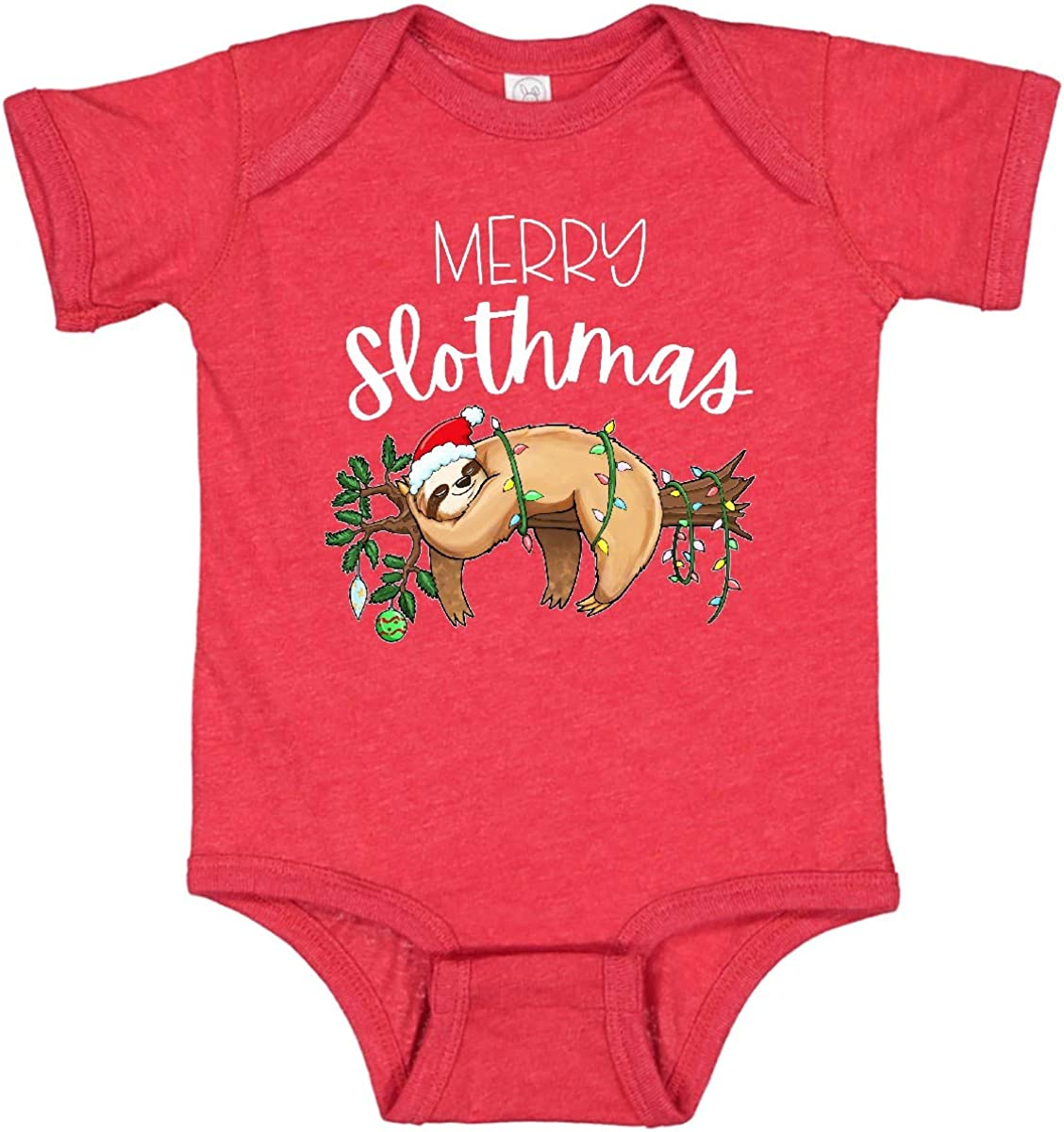 inktastic Merry In a popularity Slothmas Cute Christmas in Sloth with Lights Hat Special sale item