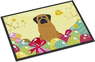 BIRSY BB6018JMAT Easter Eggs Mastiff Indoor Or Outdoor Mat, 24H X 36W, Multicolor Doormat 20x32(IN)