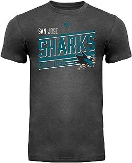 Old Time Hockey San Jose Sharks Ramp Charcoal Heather T-Shirt