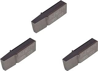 0.035//0.045 Tool Radius 2.5 Overall Length 0.250 Minimum Hole Diameter Micro 100 OR-141-9 O Ring Grooving Tool Solid Carbide Tool 0.141//0.143 Groove Width 0.100 Projection 0.562 Maximum Hole Depth 0.2500 Shank Diameter
