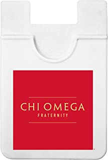Sorority Shop Chi Omega - Koala Pouch - Adhesive Cell Phone Wallet