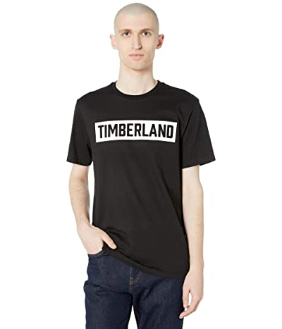 Timberland Brook 3-D Embossed T-Shirt (Black) Men