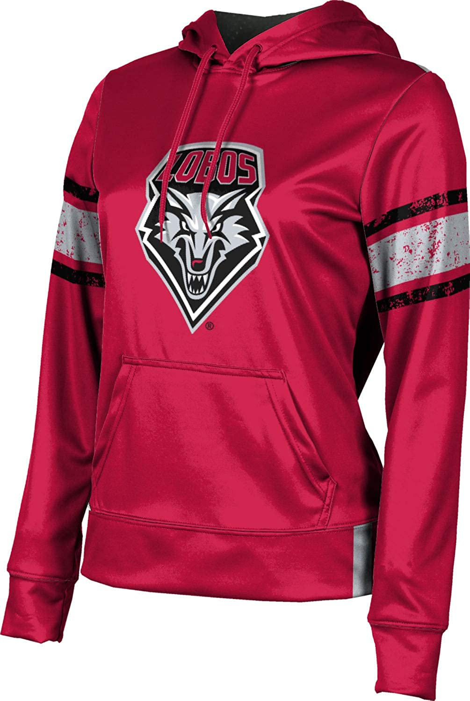 ProSphere University of New Mexico Girls' Pullover Hoodie, School Spirit Sweatshirt (End Zone)