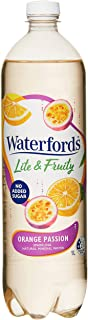 Waterfords Lite and Fruity Mineral Water, Orange Passion, 12 x 1L