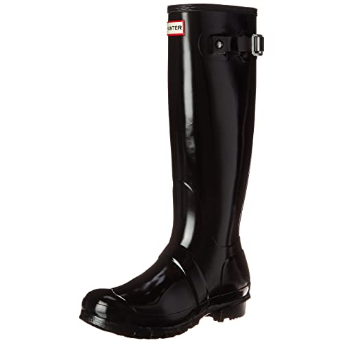 e93111e6439 Hunter Women s Original Tall Gloss Snow Boot