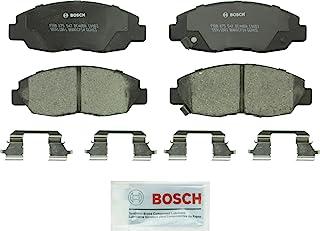 Bosch BC465A QuietCast Premium Ceramic Disc Brake Pad Set For: Acura EL; Honda Civic, Front