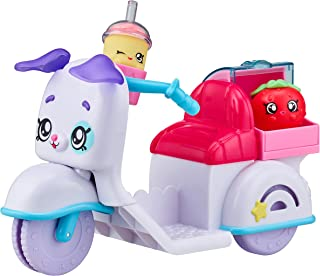 Kindi Kids Fun Delivery Scooter and 2 Shopkins