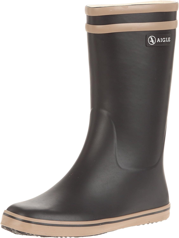 Aigle Womens Malouine Rubber Boots Black