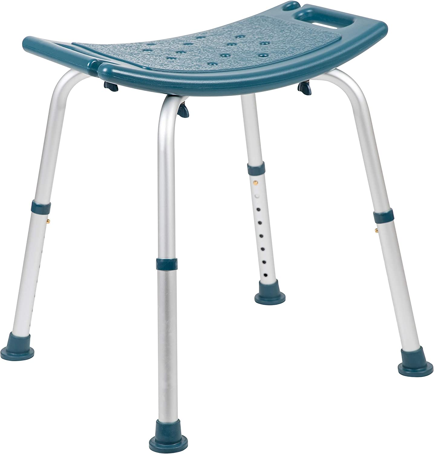 Capacity Adjustable White Bath /& Shower Chair with Quick Release Back /& Arms Flash Furniture HERCULES Series 300 Lb