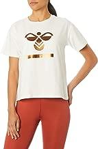 Hummel Kadın Hmlbenita Kısa Kol Tişört, (OFF WHITE 9003),(Üretici ölçüsü:S)