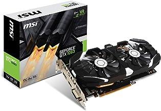 MSI GEFORCE GTX 1060 3GT OC - Tarjeta gráfica Nvidia GeForce GTX 1060 de 3 GB, color Negro