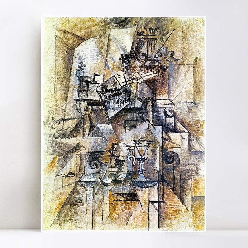 お買い得 INVIN ART Framed Canvas Giclee Print Art 超美品再入荷品質至上 Pica by Series#65 Pablo