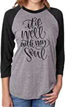 It is Well with My Soul Shirt for Woman Christian Shirt Mom Friend Gift Shirt Blouse Tee