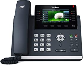 $119 » Yealink SIP-T46S Ultra-Elegant Gigabit IP Phone, 10 Line Keys Can Be Programmed with Up to 27 Features on 3 Page View (Ren...