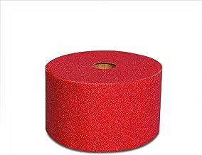 Rollo estropajo fibra abrasivo rojo 3 metros (158x3000mm). Dureza media-baja