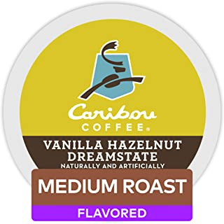 Caribou Coffee Vanilla Hazelnut Dreamstate Single Serve K-Cup Pods, Flavored Coffee, 60 Count