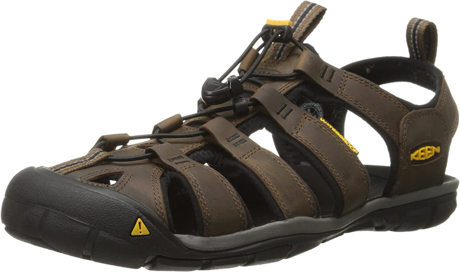 KEEN Men's Clearwater CNX Leather Hiking Sandals