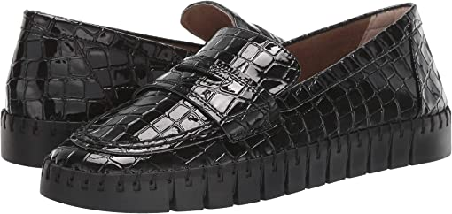 Black Croco Embossed