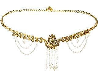 Sanjog Stylish Traditional Gold Plated Kundan & Stone Studded Kamarband for Women