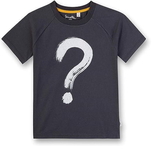 Sanetta Shirt W//O Sleeves Allover Tricot Gar/çon