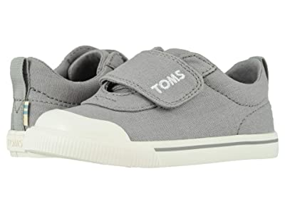 TOMS Kids Doheny (Toddler/Little Kid) (Drizzle Grey Canvas) Kid