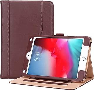 Procase iPad Mini 5 Case 2019 / iPad Mini 4 Case 2015, Vintage Stand Folio Case Smart Cover for 7.9 Inch Apple iPad Mini 5th Generation 2019 / iPad Mini 4, with Auto Sleep/Wake -Brown