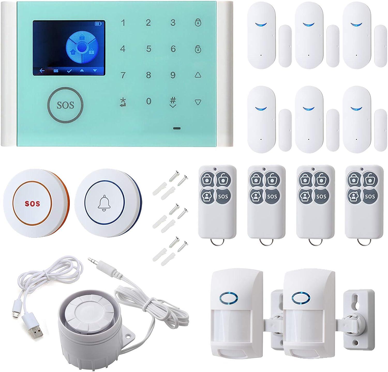 16pcs Smart Home Alarm System - Sensor LED Door Detector half Tou PIR Houston Mall