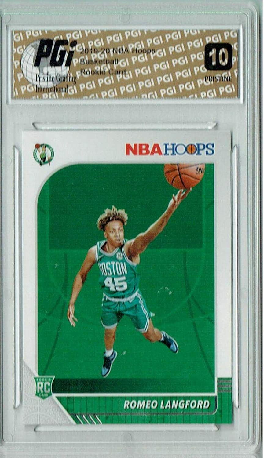 Romeo Langford 2019 NBA Easy-to-use Hoops #211 PGI Discount is also underway Card PRISTINE Rookie 10 -