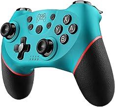 Diswoe Controller Wireless per Nintendo Switch,Switch PRO Controller Bluetooth,Bluetooth Switch Controllere con la Funzion...