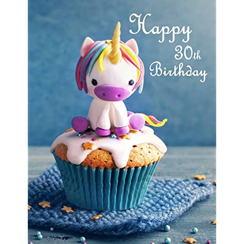 Happy 30th Birthday Journal Notebook Diary 105 Lined Pages Gifts