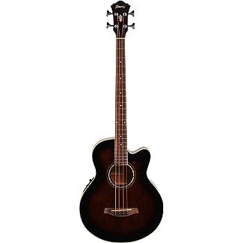 Ibanez Acoustic-Electric Bass Guitar Dark Violin Sunburst