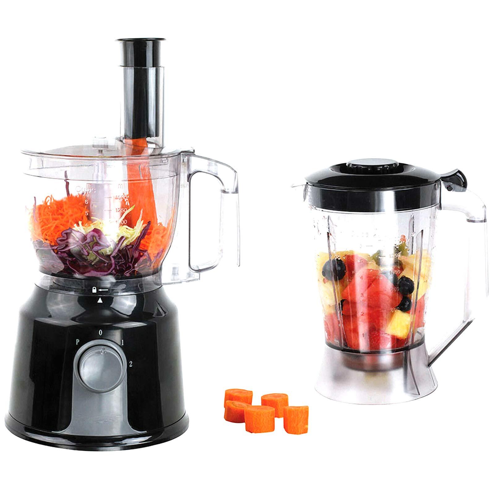 ONOGAL Robot de Cocina Multifuncion Batidora Pica Amasa Mezcla Bate Emulsiona 6367: Amazon.es