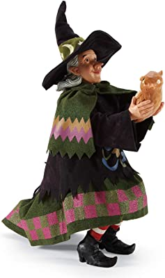 Department 56 Possible Dreams Jim Shore Halloween The Wise Owl Figurine, 18 Inch, Multicolor