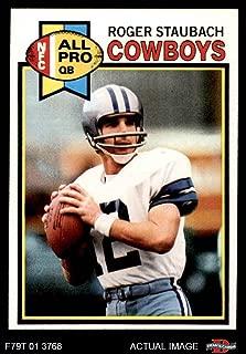 1979 Topps # 400 Roger Staubach Dallas Cowboys (Football Card) Dean's Cards 8 - NM/MT Cowboys