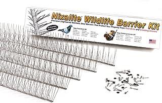 Nixalite Bird Spike Wildlife Barrier Kit (10ft, 5-2ft Strips)