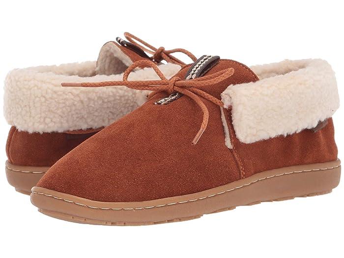 Cabin Fold  Shoes (Caramel Cafe) Women's Slippers
