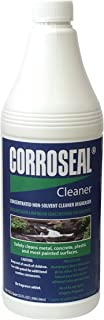 Corroseal Green Rust Converter Application Cleaner, Quart, 32 oz. Bottle, 800332